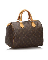 Louis Vuitton Brown Speedy Handtaschen