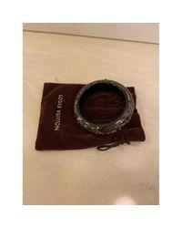 Bracelets Inclusion en Plastique Noir Louis Vuitton en coloris Black