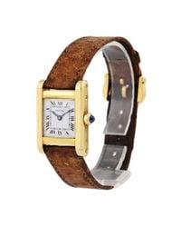 Cartier Multicolor Gelbgold Uhren