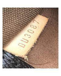 Bolsa de mano en lona marrón Popincourt Louis Vuitton de color Brown