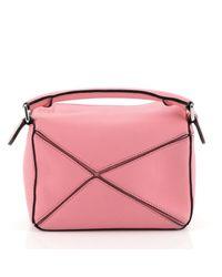 Loewe Pink Puzzle Leder Handtaschen