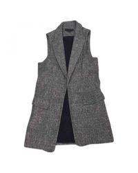 Alexander Wang Gray Grey Wool Jacket