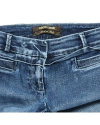 Roberto Cavalli \n Blue Cotton - Elasthane Jeans