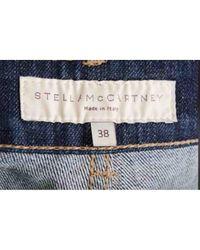 Stella McCartney Blue Gerade Jeans