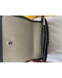 Goyard Gray Grey Cloth Handbag
