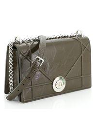 Dior Green Ama Leder Handtaschen