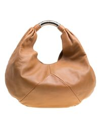 BVLGARI Brown Leder Handtaschen