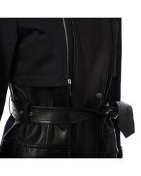 Chaqueta en cuero negro Barbara Bui de color Black