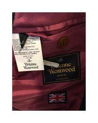 Vivienne Westwood Wolle Blouson in Gray für Herren