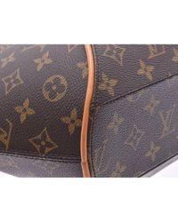 Louis Vuitton Brown Ellipse Leinen Handtaschen
