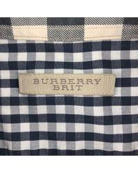 Chemises Burberry pour homme en coloris Multicolor
