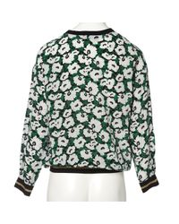 Stella McCartney Green Silk Knitwear