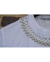 T-Shirt in cotone bianco \\N di Givenchy in White da Uomo