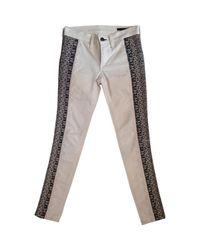 Pantaloni in cotone bianco \N di Rag & Bone in White