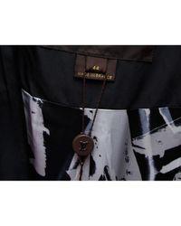 Louis Vuitton Black Wolle Mäntel
