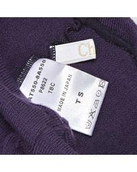 Lencería en lana violeta \N Chloé de color Purple