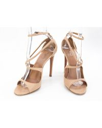 Alaïa Brown Leather Heels