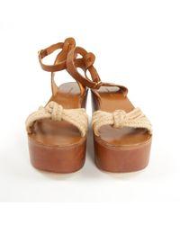 Sandali in pelle marrone \N di Étoile Isabel Marant in Brown