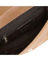 Ferragamo Brown Leather