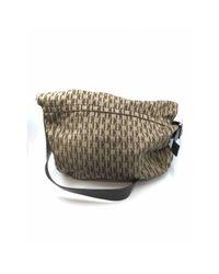 Bolsa de mano en algodón camel Carolina Herrera de color Natural