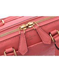 Bolsa de mano en cuero rosa Speedy Louis Vuitton de color Pink