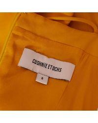 Robe \N en Viscose Jaune Cushnie et Ochs en coloris Yellow