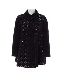 Cappotto in lana nero \N di Huishan Zhang in Black