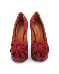 Lanvin Red Hoher Absatz Rot