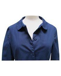Miu Miu \n Blue Cotton Dress