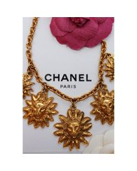 Chanel Metallic CC Colliers