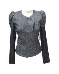 Barbara Bui Black Wool Short Vest