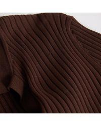 Top Marron Louis Vuitton en coloris Brown
