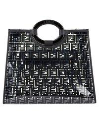 Fendi Black Runaway Shopping Handtaschen