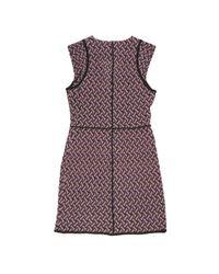 Mini robe Missoni en coloris Purple