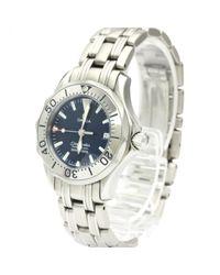 Omega Metallic Seamaster Uhren