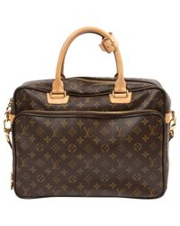 Louis Vuitton Brown Pre-owned Cloth Bag