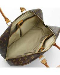 Louis Vuitton Brown Deauville Leinen Handtaschen