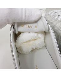 Louis Vuitton Frontrow Lackleder Niedrige Turnschuhe in Metallic für Herren