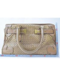 Bottega Veneta \n Brown Leather Handbag