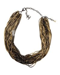 Chanel - Metallic Pre-owned Necklace - Lyst