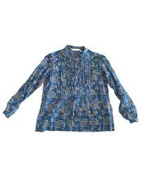 Étoile Isabel Marant Blue Cotton