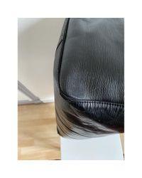 Louis Vuitton Keepall Leder Reise Tasche in Black für Herren