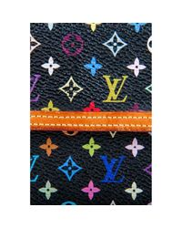 Portafoglio in tela multicolore di Louis Vuitton