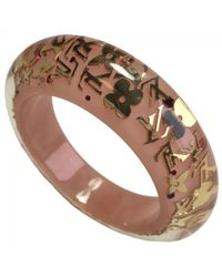 Louis Vuitton - Pink Pre-owned Inclusion Bracelet - Lyst