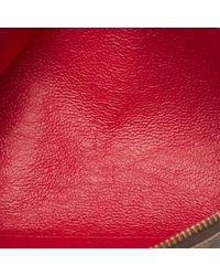 Marroquinería en lona marrón \N Louis Vuitton de color Brown