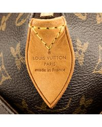 Bolsa de mano en lona marrón Totally Louis Vuitton de color Brown