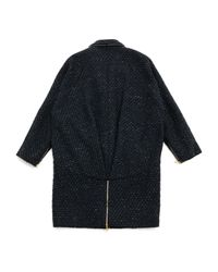Proenza Schouler Black Wool Coat