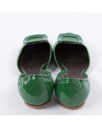Roger Vivier Green Patent Leather