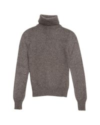 Céline - Gray Pre-owned Cashmere Jumper - Lyst