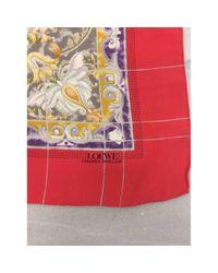 Loewe Multicolor Multicolour Silk